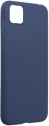 forcell soft back cover case for huawei y5p dark blue photo