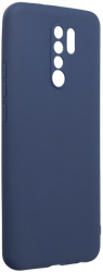 forcell soft back cover case for xiaomi redmi 9 dark blue photo