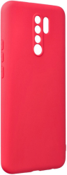 forcell soft back cover case for xiaomi redmi 9 red photo