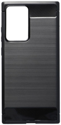 forcell carbon back cover case for samsung galaxy note 20 plus black photo