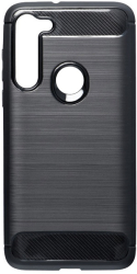 forcell carbon back cover case for motorola moto g8 power black photo