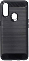 forcell carbon back cover case for oppo a31 black photo