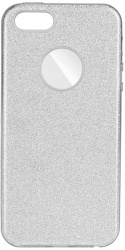 forcell shining back cover case for samsung galaxy a21s silver photo
