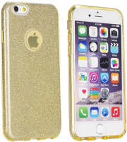 forcell shining back cover case for samsung galaxy a21s gold photo