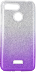 forcell shining back cover case for iphone 12 12 pro clear violet photo