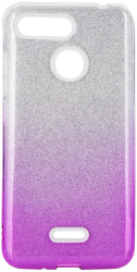 forcell shining back cover case for iphone 12 mini clear pink photo