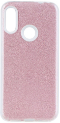 forcell shining back cover case for samsung galaxy m21 pink photo