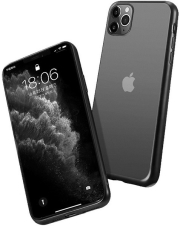 forcell new electro matt back cover case for iphone 12 mini black photo