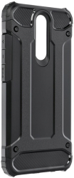 forcell armor back cover case for xiaomi redmi 9 black photo