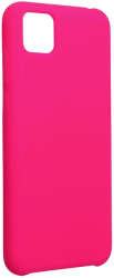 forcell silicone back cover case for huawei y5p hotpink photo