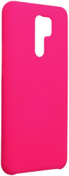 forcell silicone back cover case for xiaomi redmi 9 hot pink photo