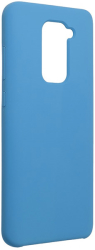 forcell silicone back cover case for xiaomi redmi note 9 blue photo