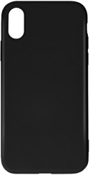 forcell silicone lite back cover case for huawei psmart 2020 black photo