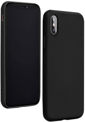 forcell silicone lite back cover case for xiaomi redmi 9a black photo