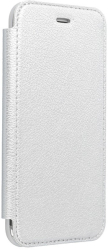forcell electro book flip case for iphone 12 pro max silver photo