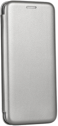 forcell book elegance flip case for samsung m51 gray photo