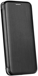 forcell book elegance flip case for samsung a42 5g black photo