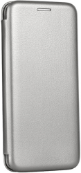 forcell book elegance flip case for samsung galaxy note 20 grey photo