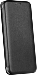 forcell book elegance flip case for apple iphone 12 pro max black photo