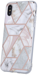 geometric marmur back cover case for iphone 12 mini 54 pink photo