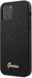 guess original faceplate back cover case guhcp12spuilgbk iphone 12 mini black photo