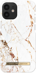 ideal of sweden back cover case for iphone 12 mini carrara gold photo