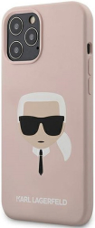 karl lagerfeld original faceplate back cover case klhcp12lslkhlp iphone 12 pro max pink photo