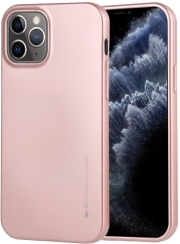 mercury i jelly back cover case for iphone 12 12 pro rose gold photo