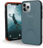 uag urban armor gear civilian back cover case for apple iphone 11 pro max slate photo