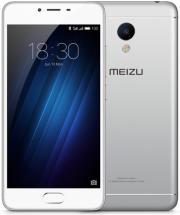 kinito meizu m3s 16gb 4g dual sim silver white photo