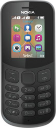nokia 130 2017 dual sim black gr photo