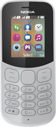 nokia 130 2017 dual sim grey gr photo