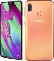 kinito samsung galaxy a40 64gb 4gb dual sim coral gr photo