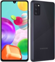 kinito samsung galaxy a41 64gb 4gb dual sim black gr photo
