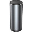 baseus gentleman style vehicle mounted trash can dark grey photo