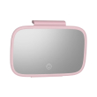 baseus delicate queen car touch up mirror pink photo