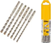 set 6 tem trypania dewalt sds plus extreme 2 dt60302 photo