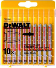 set 10 tem lames segas metalloy dewalt dt2292 photo