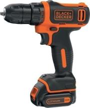 drapanokatsabido mpatarias black decker 10mm 108v li ion 15ah kasetina bdcdd12k1 photo