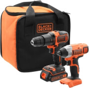 set drap do kroystiko black decker 18v 2 tax bdchd18 palmiko 18v 2x15ah li ion bdcim18 bck21s1s photo